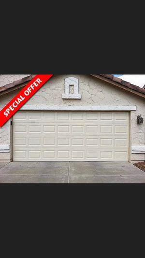 16x7 garage door $875 installed for Sale in Greenbrier, TN
