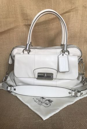 Coach leather Kristen satchel with strap for Sale in Nashville, TN