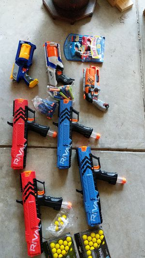 Nerf Guns/ammo for Sale in Raleigh, NC