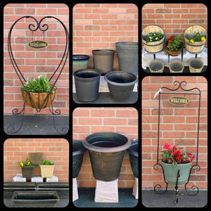 Flower pots sale. All type all size for Sale in Carson, CA
