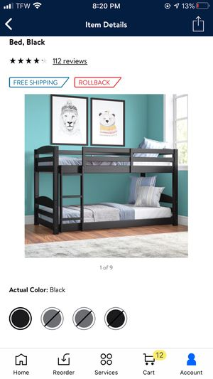 Kids bunk bed for Sale in Tulsa, OK