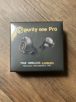 $25 PRICEBRAND NEW PURITY ONE PRO WIRELESS EARBUDS for Sale in Falls Church, VA