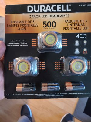 Duracell flash light for Sale in Santa Maria, CA