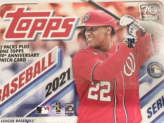 Topps 2021 Series 1 MLB Baseball Trading Cards Relic Box- 98 Cards Brand New Sealed — $25 Each $5 Ship for Sale in San Dimas,  CA