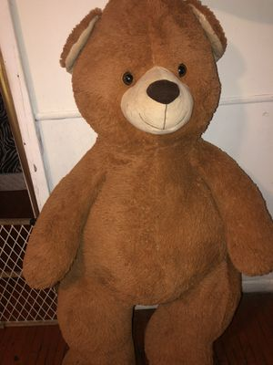 Giant stuffed teddy bear for Sale in Joliet, IL