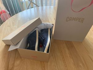 Camper Blue Boy Shoes, Size 3 (Big Kid) for Sale in Los Angeles, CA