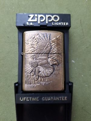 One-of-a-kind Solid brass ZIPPO LIGHTER! for Sale in Apollo Beach, FL