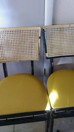 Antique foldable chair for Sale in Glendale, AZ