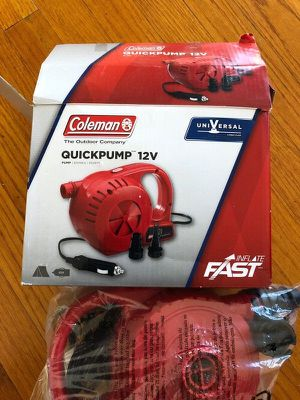 Coleman 12V Quick Air Pump for Sale in Santee, CA