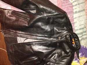 Read leather jacket new for Sale in Tacoma, WA