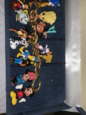 Disney classic charm bracelet for Sale in Mountain View, CA