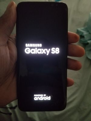 Cracked screen Samsung Galaxy S8 64GB for Sale in New York, NY