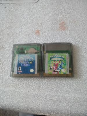 "GameBoy Color Bundle ""The Legend of Zelda Oracle of Ages"" and ""Power Rangers Time Force"" for Sale in Moreno Valley, CA"
