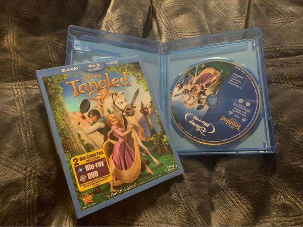 Disney tangled rapunzel Blu-ray movie