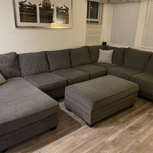 Oversize Couch & Ottoman for Sale in Encinitas, CA