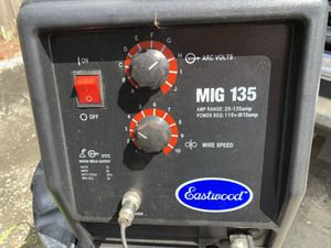Eastwood mig welder 110/135A for Sale in Tampa, FL
