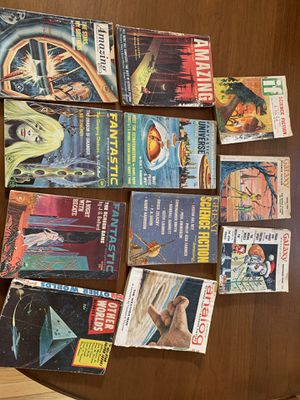 Lot of 11 Sci Fi Pulp Novels 50s/60s for Sale in Ashburn, VA