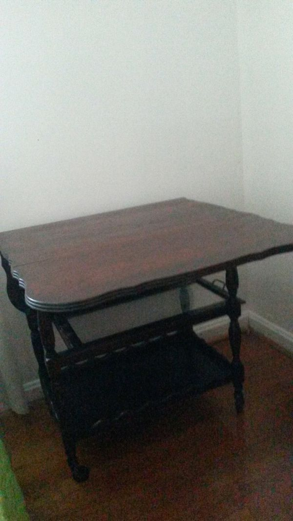 Beautiful solid cherry wood table vintage