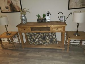 All Wood 5 Set Tables for Sale in Houston, TX