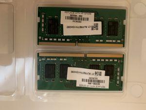 16gbs (8GBx2) DDR4 2666mhz laptop RAM for Sale in Berea, OH