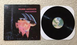 "Black Sabbath ""Paranoid"" vinyl lp 1978 Warner Records Palm Tree Label Los Angeles Pressing very nice copy Metal for Sale in Laguna Niguel, CA"