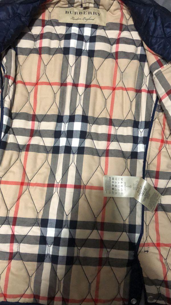 Men's Burberry Brit quilt jacket L
