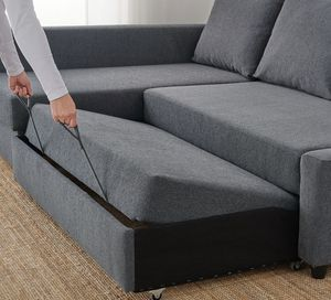 IKEA SECTIONAL FULL SIZE COUCH WITH STORAGE INSIDE for Sale in Fort Lauderdale, FL