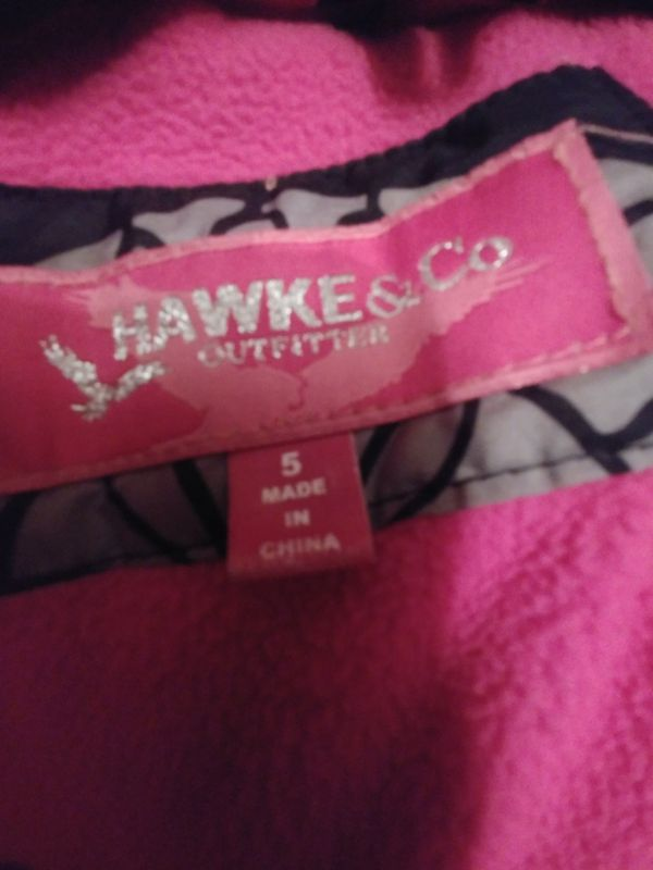 Girls SZ 5 Hawke& Co. Winter coat