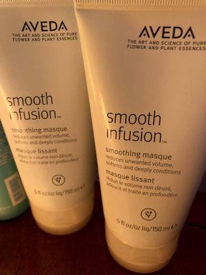 Aveda Smooth Infusion smoothing masque Set of 2 for Sale in Key Biscayne, FL