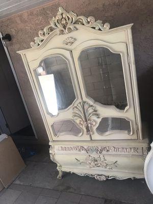 Ardmore hutch or TV stand closet etc antique furniture for Sale in Hacienda Heights, CA