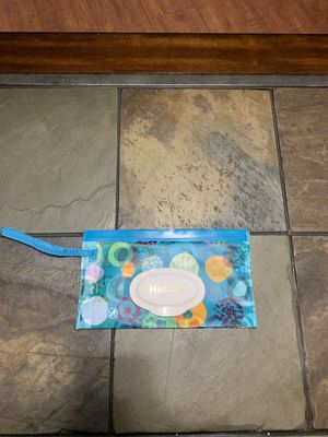 Huggies clutch purse wipes carrier for Sale in Mesa, AZ