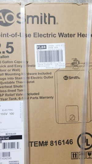Electric water heater for Sale in Modesto, CA