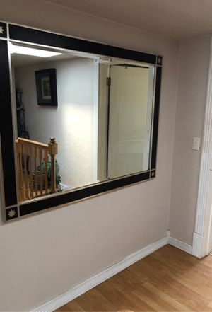 Huge beveled framed mirror for Sale in Keizer, OR