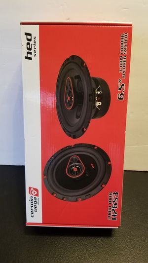 Cerwin Vega 6.5 Car Speakers 3 way 340W MAX New for Sale in San Diego, CA