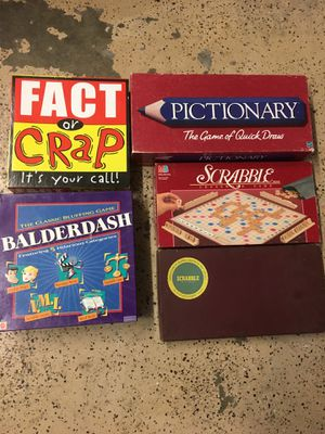 Board games. for Sale in Pompano Beach, FL
