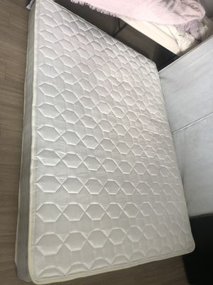 TwinXL mattress + bed frame for Sale in Fort Collins, CO