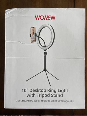 BRAND NEW Ring Light with Tripod Stand for Sale in Chapel Hill, NC