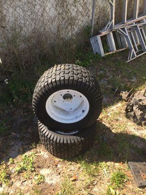 ((Rear Wheels))craftsman riding lawn mower for Sale in Lakeland, FL