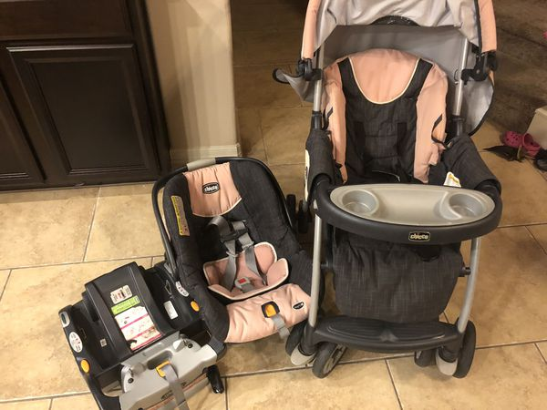 Stroller, Car Seat, and base