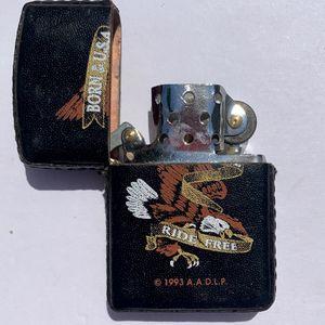 1993 Zippo Lighter Born in the USA Eagle Ride Free Unused New Old Stock for Sale in Marietta, GA