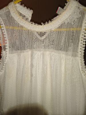 Beautiful short white Lacy dress for Sale in Palmetto, FL