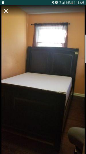 Mattress Gel Memory Foam & Box Spring for Sale in Greensboro, NC