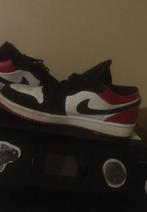 Jordan 1 black toe for Sale in Chillum, MD