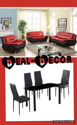 Red/Black 2 Room Combo Set for Sale in Atlanta, GA
