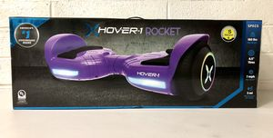 ••• NEW: Hover-1 Rocket Hoverboard w/ LED Headlights, 7 MPH Max Speed, 160 lbs Max Weight, 3 Miles Max Distance - Purple••• for Sale in Mesa, AZ