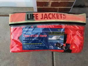 Life jackets with protective bag for Sale in Raleigh, NC