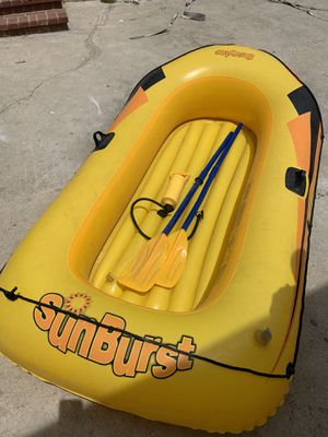 Inflatable kayak boat for Sale in Fontana, CA