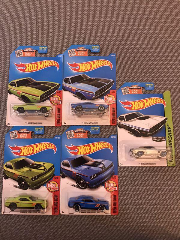 Hot Wheels Dodge Challenger lot