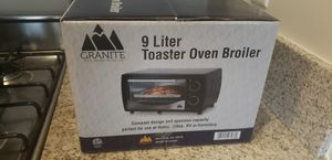 9 Liter Toaster Oven Broiler for Sale in Sacramento, CA