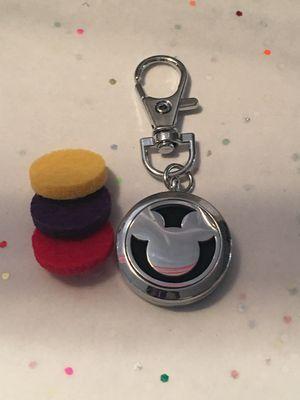Mickey Mouse Essential Oil Chain Diffuser - Car, handbag, gym, locker for Sale in San Jose, CA